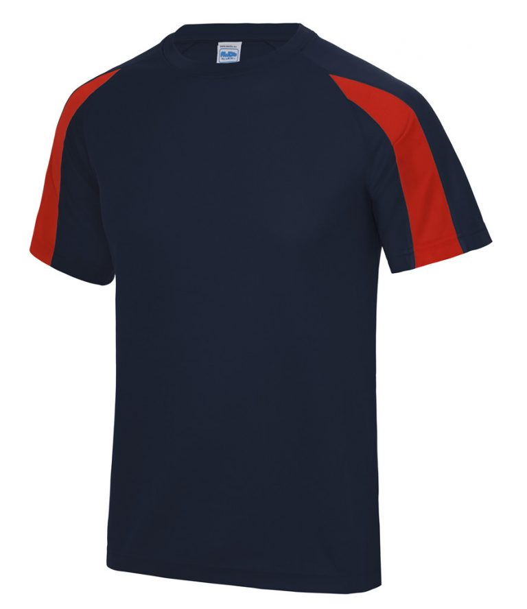 FRENCH NAVY/RED