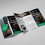 trifold leaflets