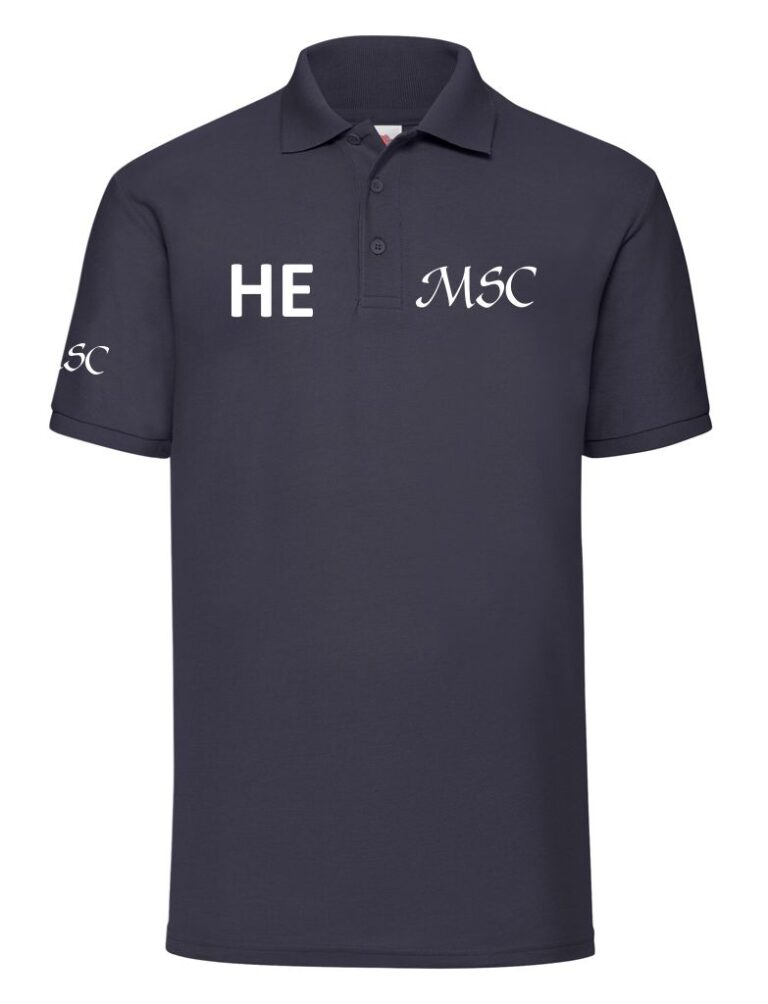 midland navy polo front