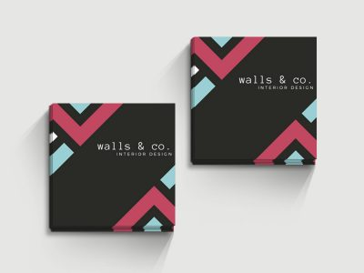 Business Cards - Square A